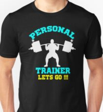 Personal Trainer Fitness Exercise Coach Gear shirt cups T-Shirt