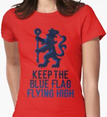 Chelsea - Keep the Blue Flag Flying High Womens Fitted T-Shirt
