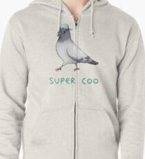 Super Coo Zipped Hoodie