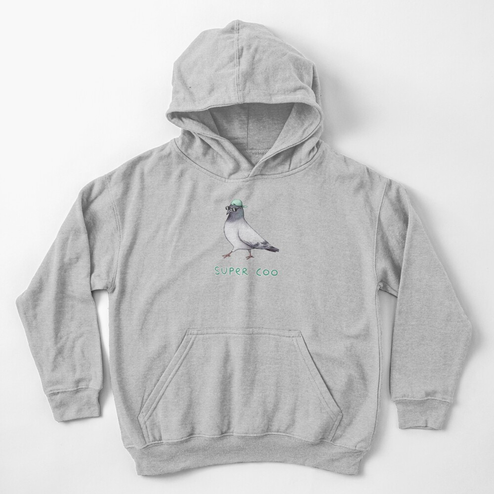 Super Coo Kids Pullover Hoodie