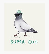 Super Coo Photographic Print