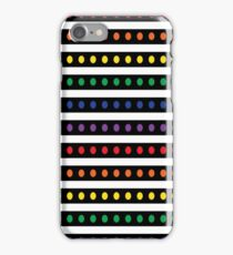Rainbow Spots and Stripes iPhone Case/Skin