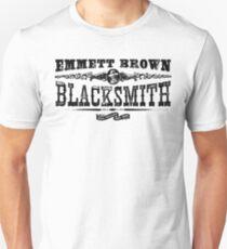 Emmett Brown Blacksmith - Back to the Future Inspired Design T-Shirt