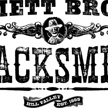 Emmett Brown Blacksmith - Back to the Future Inspired Design by screampunk