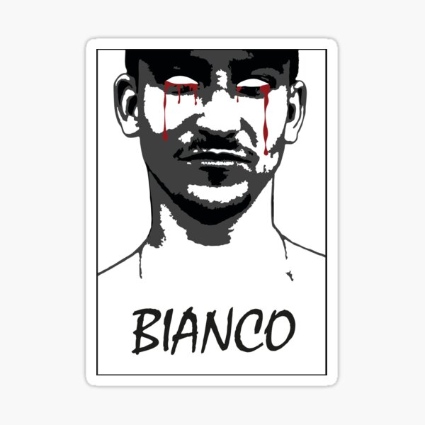 Yung Hurn - Bianco Sticker