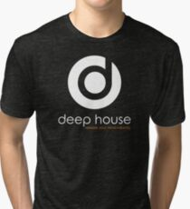 Deep House Music DJ Love the Beats Tri-blend T-Shirt