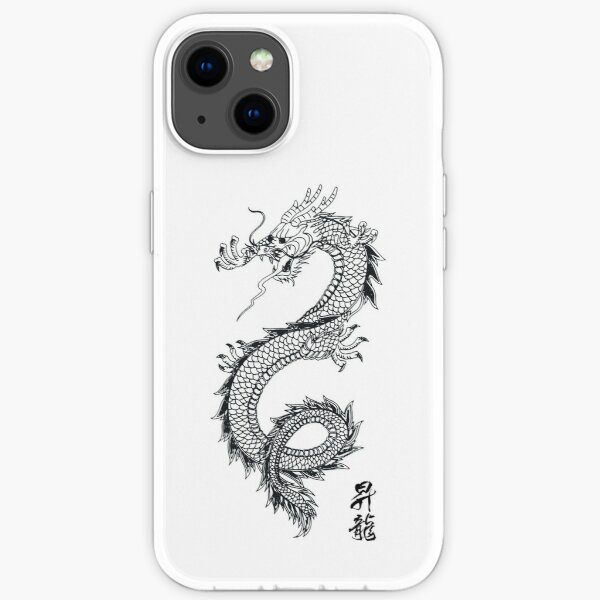 Chinese traditional dragon iPhone Soft Case
