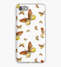 Gelbe Schmetterlinge iPhone Case/Skin