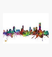 Melbourne Skyline Photographic Print