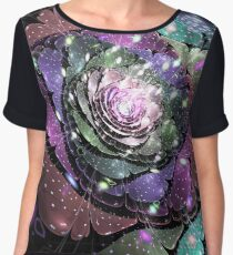 Winter rose Women's Chiffon Top