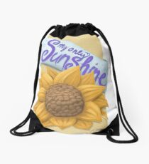 My Only Sunshine Drawstring Bag