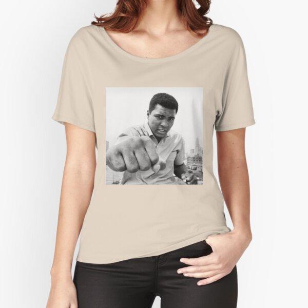 Herren Retro Muhammad Ali 64 Schwergewichts-boxen Champion T-Shirt Weiß NEU