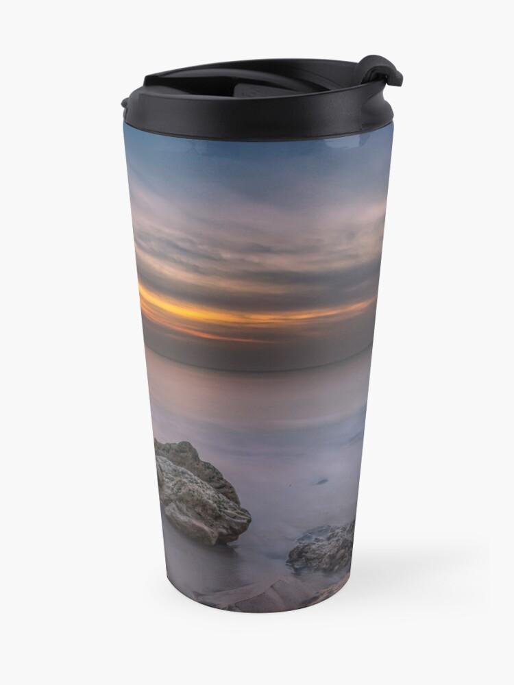 Alternate view of Alum Bay Sunset #2 Travel Mug
