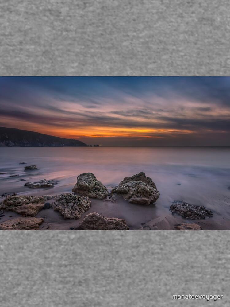 Alum Bay Sunset #2 by manateevoyager