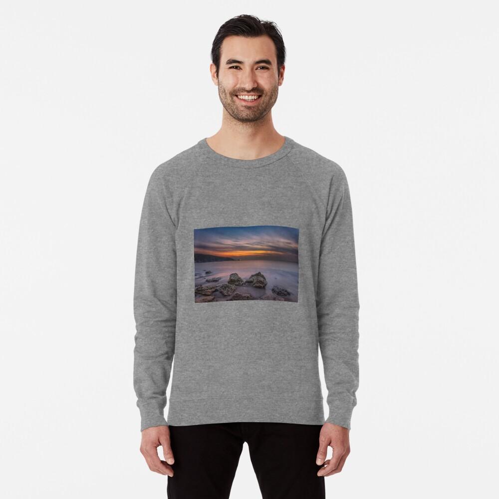 Alum Bay Sunset #2 Lightweight Sweatshirt