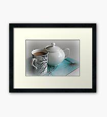 My Morning Cuppa Framed Print