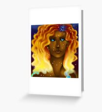 The Lady of Fire Greeting Card