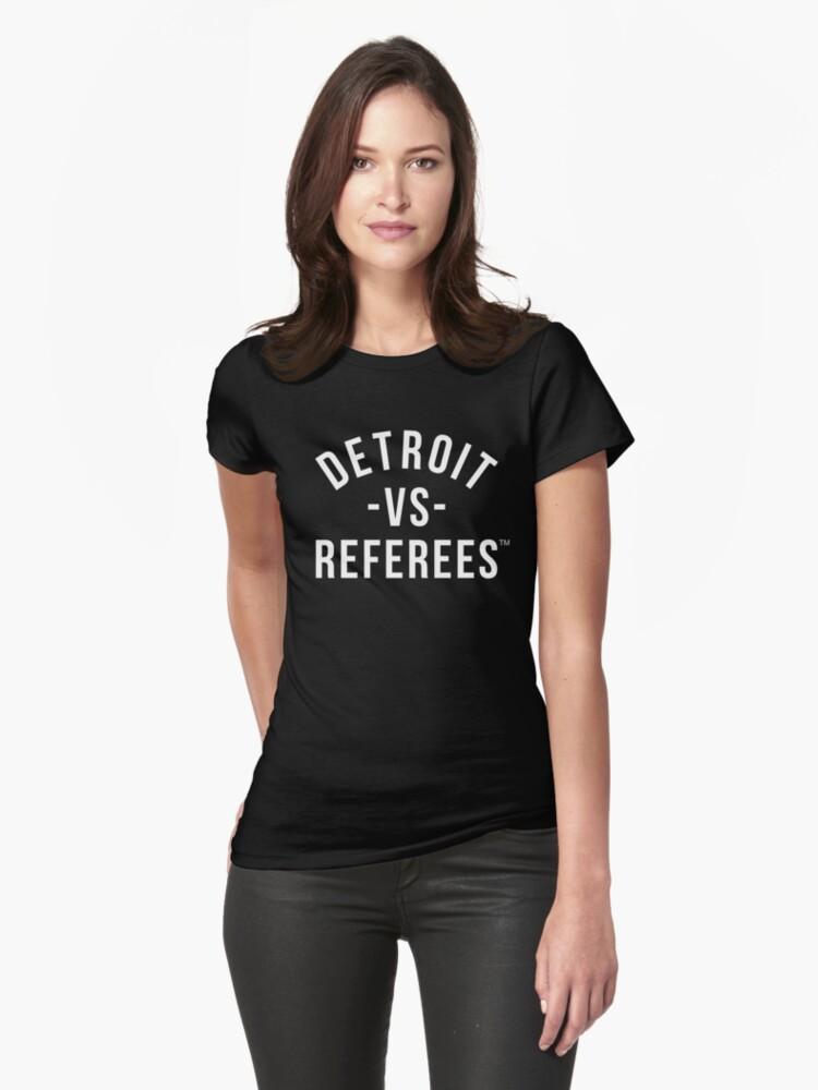 Detroit Versus Referees™ Womens T-Shirt Front