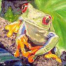 Happy Tree Frog by Jennifer Ingram