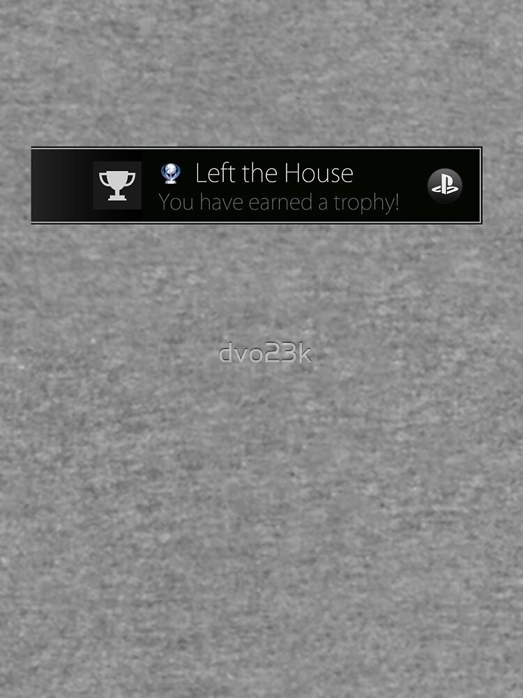 Playstation Trophy - Left the House by dvo23k
