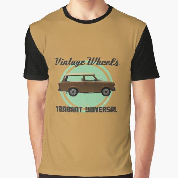 Vintage Wheels: Trabant 601 Universal Graphic T-Shirt