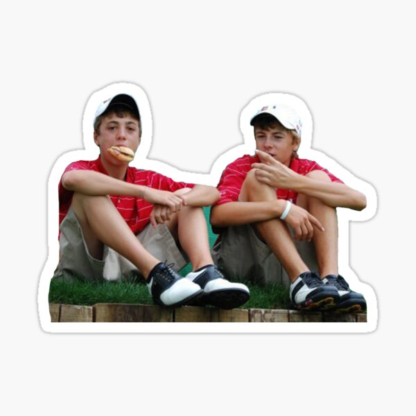 Justin Thomas Jordan Spieth BFFL Goals Sticker