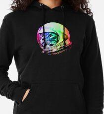 Astronaut Space Cat (digital rainbow version) Lightweight Hoodie