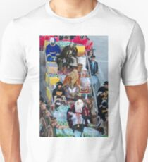 The Three Kings at the parade Unisex T-Shirt