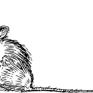 Sad Rat by snugglepuffin