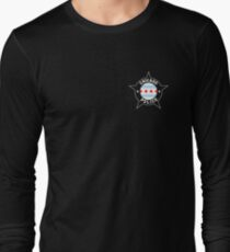 Chicago Police T Shirt - Chicago Flag Long Sleeve T-Shirt
