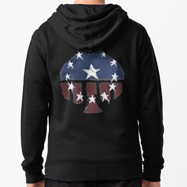 Courier's Old World Glory -Aces- Zipped Hoodie