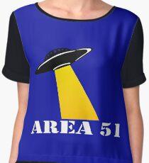 Cool Alien Hello T-shirt Emoticon Martian UFO Smile Tshirt Women's Chiffon Top