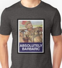 ABSOLUTELY BARBARIC (MEME - OBEY) T-Shirt