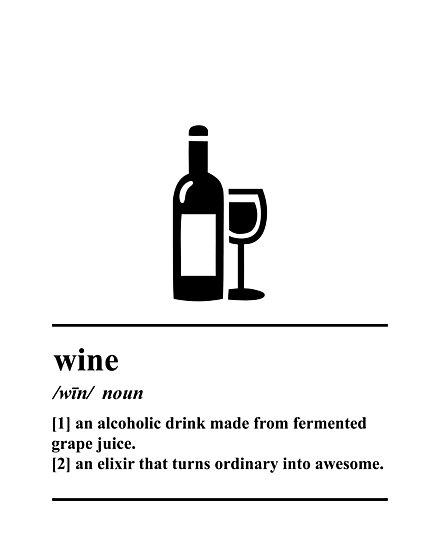Wine Definition - Wine humor by yayandrea