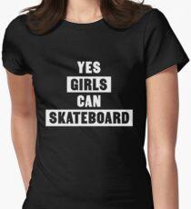 Yes girls can skateboard T-Shirt