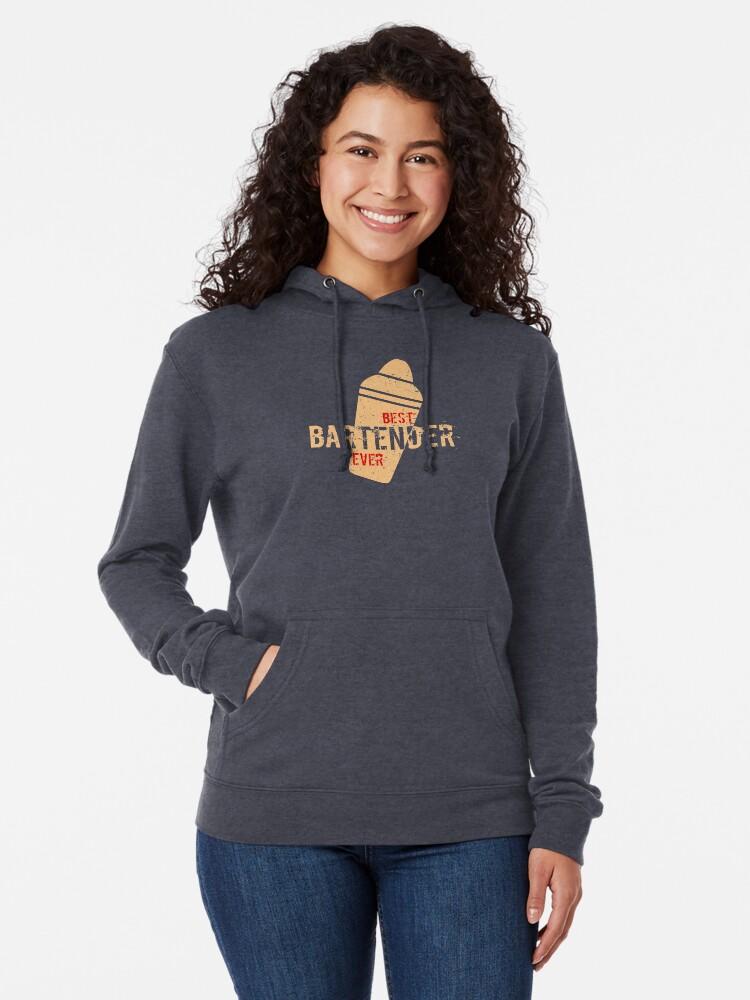 Sweatshirt Best Bartender Ever Tee Shirt Hoodie