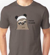 Sloth says trust me, I'm a panda Unisex T-Shirt