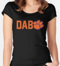 Dabo Sweeney 2017 National Champions Clemson Tigers Women's Fitted Scoop T-Shirt