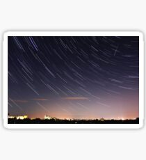 Star Trails / Perseid Meteor Shower Sticker