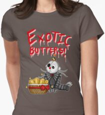 Ennard's Exotic Butters Womens Fitted T-Shirt