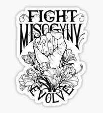 Fight Misogyny Sticker