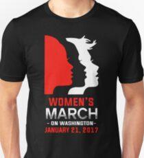Womens march on Washington January 21 2017 T-shirt Unisex T-Shirt
