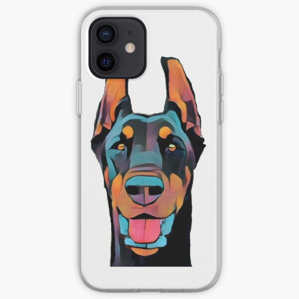 Doberman Pinscher Dog Lovers Apparel iPhone Soft Case