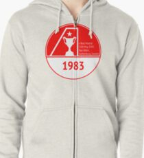 The Dons 1983 Zipped Hoodie