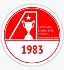 The Dons 1983 Sticker