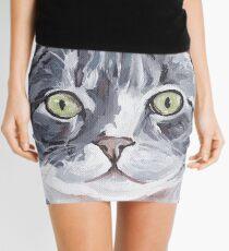 Tabby cat   Art by Lee H Keller. Mini Skirt