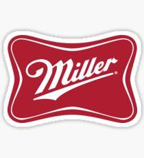 Miller Beer Sticker