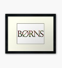 Borns Sunflowers Framed Print