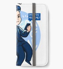 Did you miss me? iPhone Wallet/Case/Skin