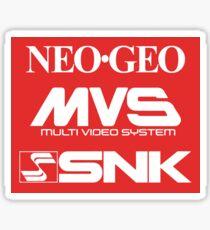 Neo Geo (Triple Logo) Sticker